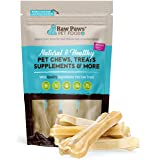 Raw Paws Pet Premium 4-inch Compressed Rawhide Bones for Dogs, 5-Count - Packed in USA - Small Dog Bones - Puppy Bones…
