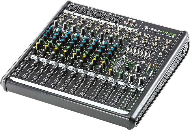 Mackie ProFX12v2 - Mezclador para DJ: Amazon.es: Instrumentos ...