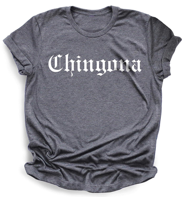 Intelligent Fearless Boss womens Clothing chingona t-shirt for women