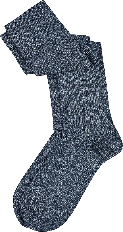 Multiple Colours 1 Pair UK sizes 2.5-8 FALKE Womens Family Knee-High Socks Long ideal for boots 94/% Cotton EU 35-42