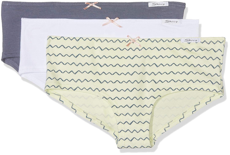 Skiny Mädchen Unterhose, 3er Pack Skiny Mädchen Unterhose