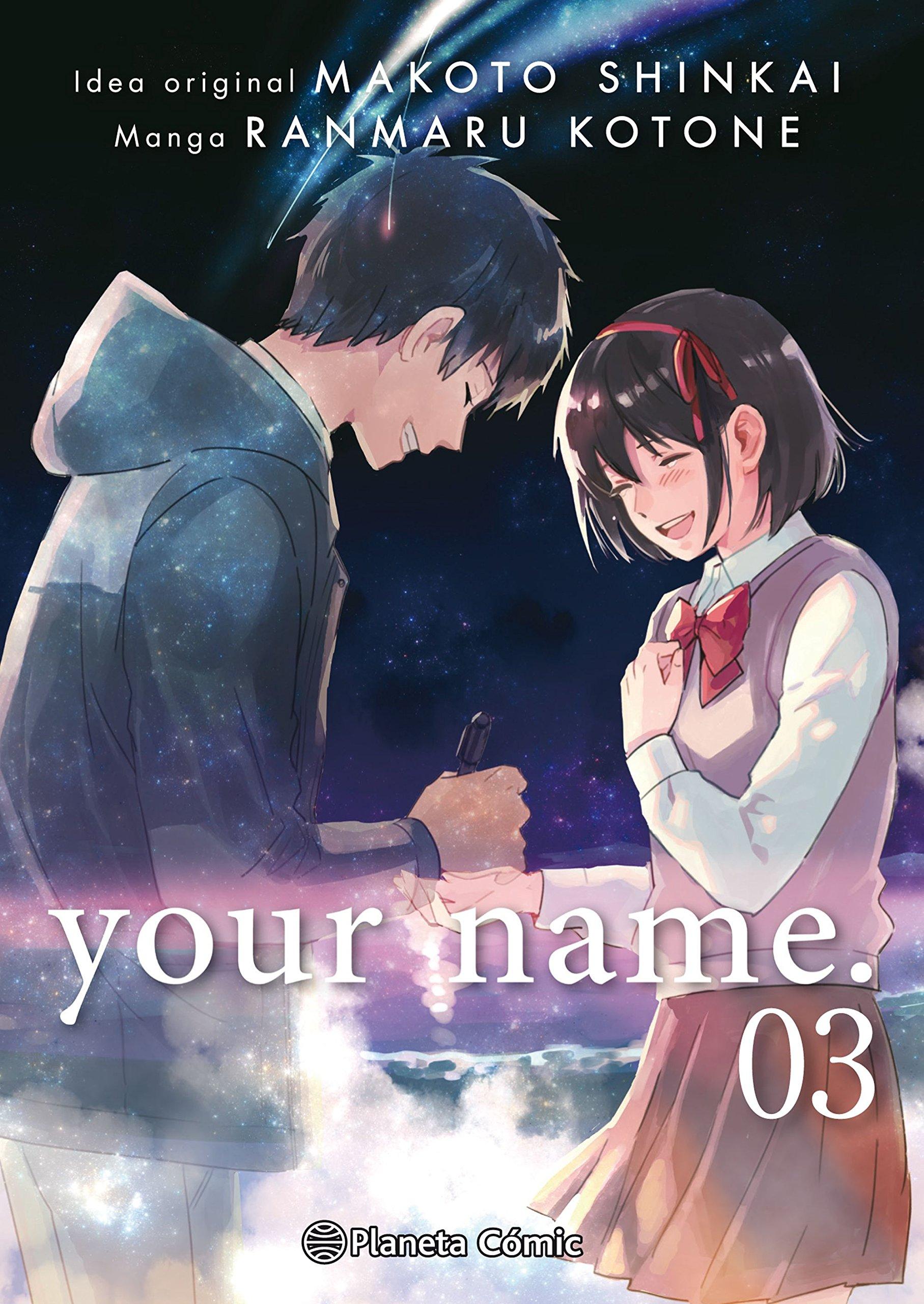 your name. nº 03/03 (Babel) Tapa blanda – 24 may 2018 Makoto Shinkai Ranmaru Kotone Daruma Planeta DeAgostini Cómics
