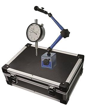 Magnetstativ im Satz Länge 345 mm Magnetkraft 60 kg Messuhr 0-10 mm