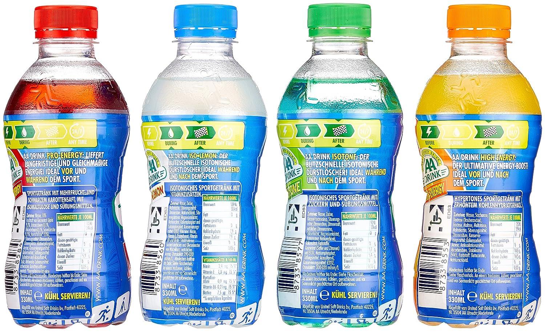 AA Drink Soccer Box (24x33cl; Mix 4-fach sortiert); isotonische ...