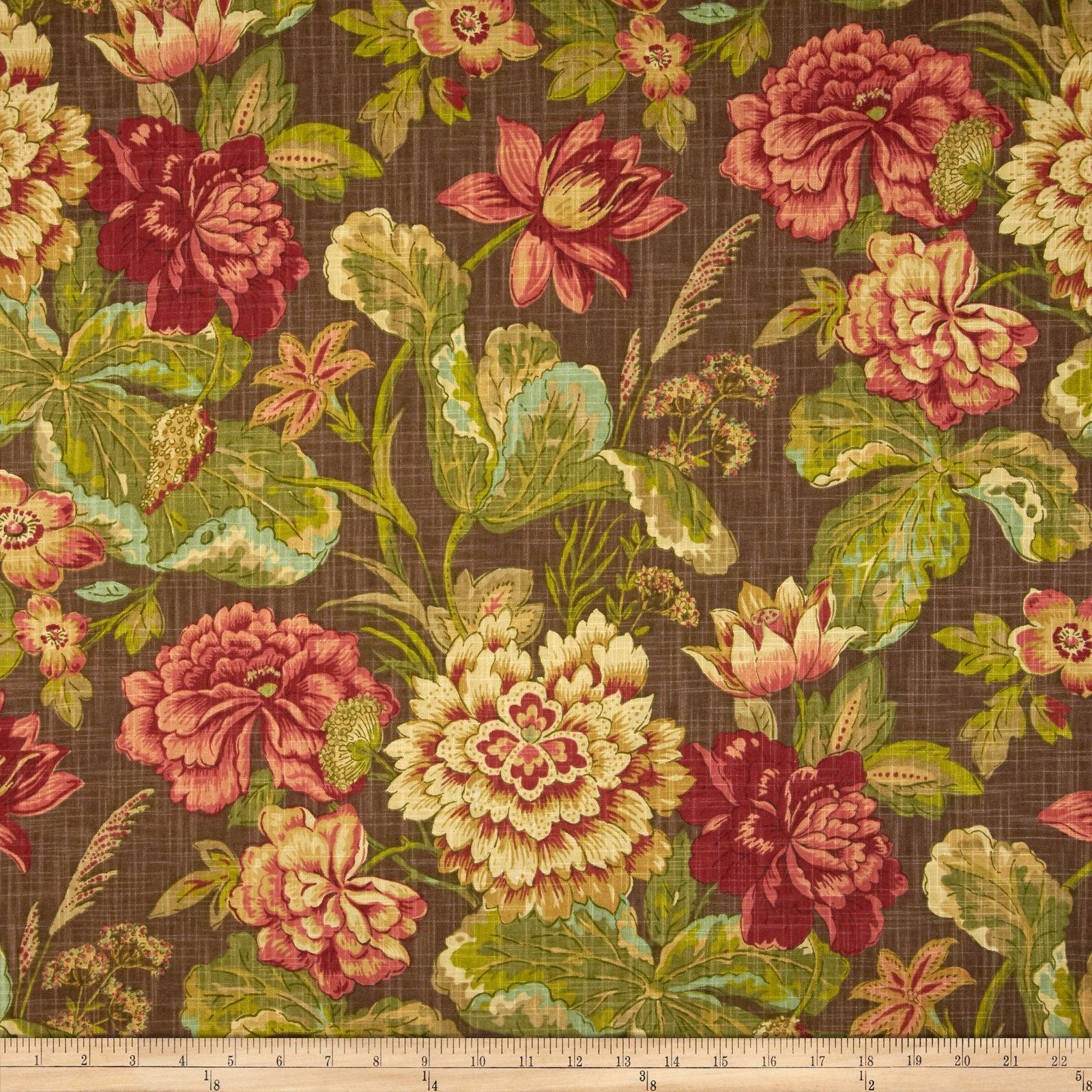 Waverly Sonnet Sublime Slub Fabric, Vintage