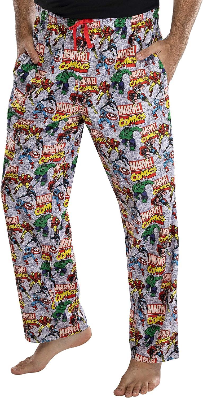 Marvel Comics hombre Postura Avengers Pajama Pants Loungewear