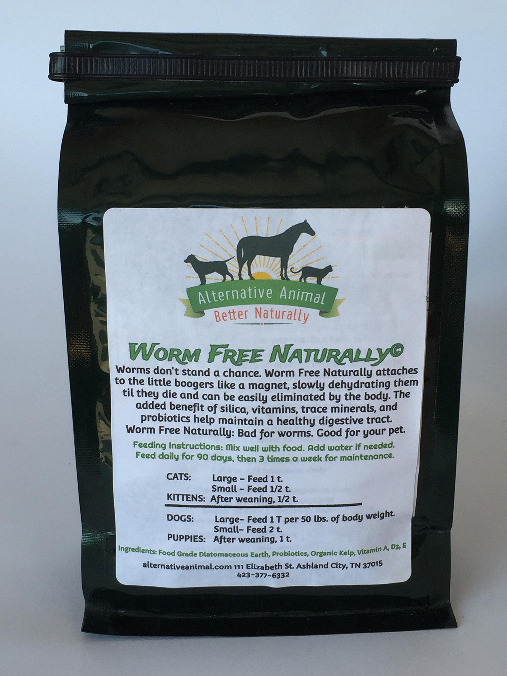 Alternative Animal Wormfree Naturally-Natural Dog Wormer