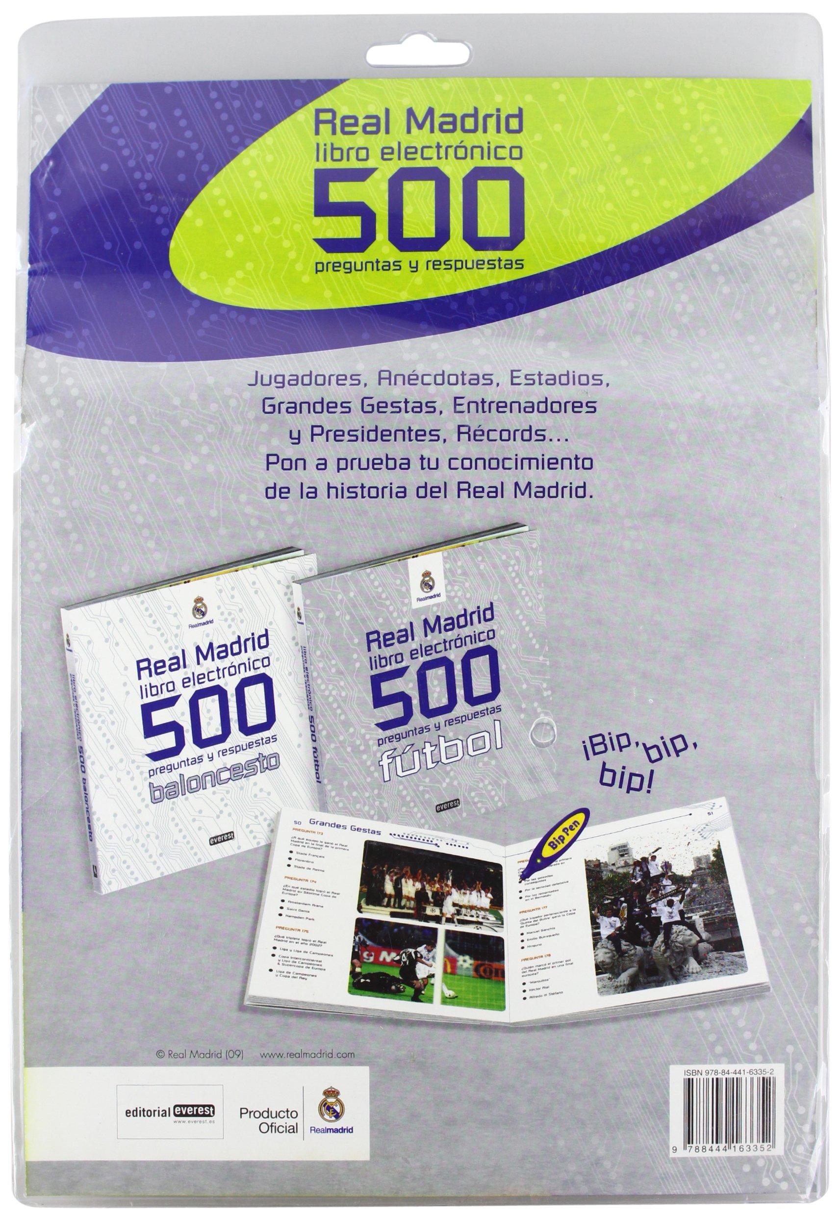 Real Madrid. Libro electrónico. 500 preguntas y respuestas ...