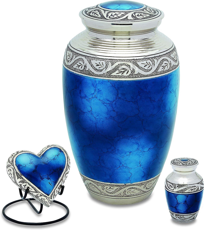 UrnsDirect2U Grecian Blue Set Decorative-urns