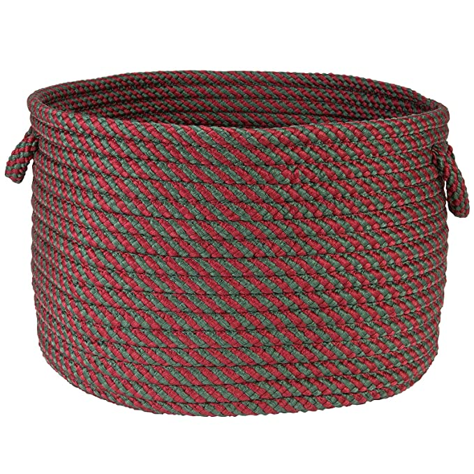Amazon.com: Colonial Mills Hope Basket - Red and Green: Home ...