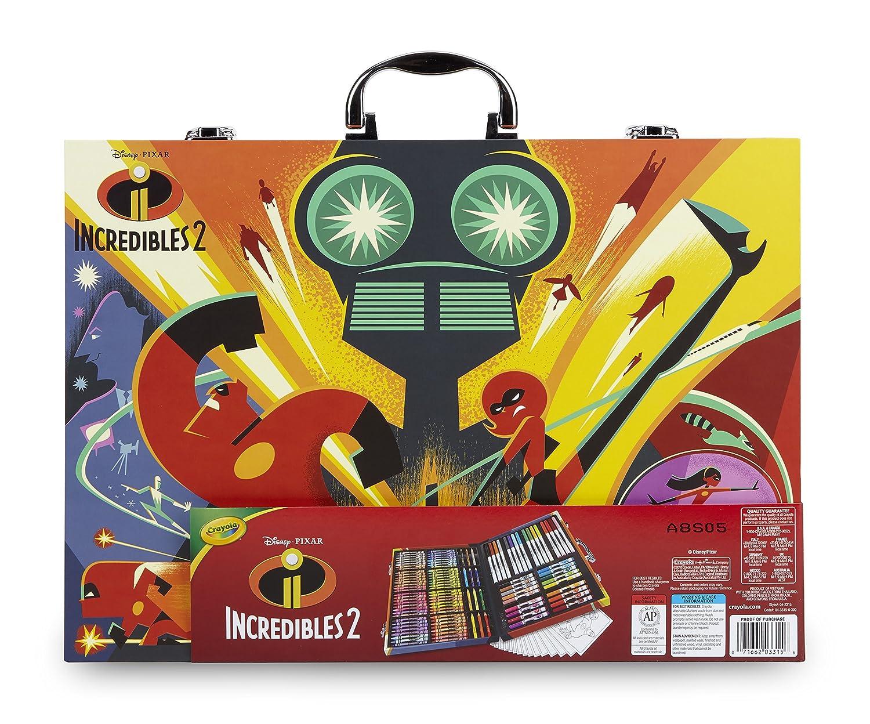 Crayola - Disney Los Increibles 2 Maletín del Artista para Colorear ...