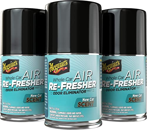 Meguiar's G16402PK3 New Car Air Re-Fresher