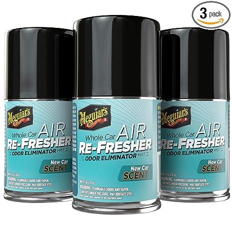 Amazon.com: Meguiars - Eliminador de olores - aromas y ...