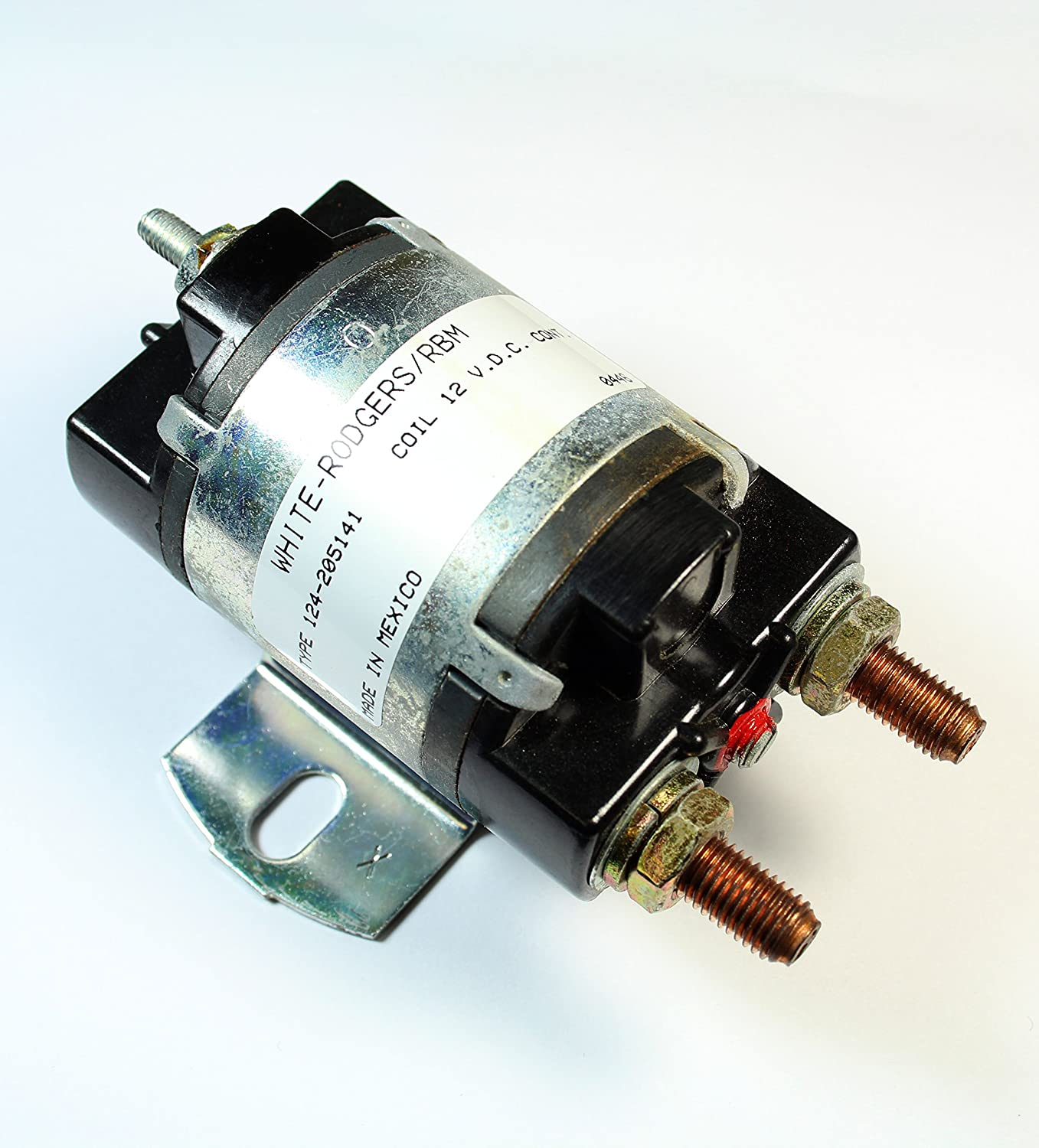 NEW*** WHITE RODGERS Solenoid 124-205141 Coil 12 v.d.c Continuous T2 3c
