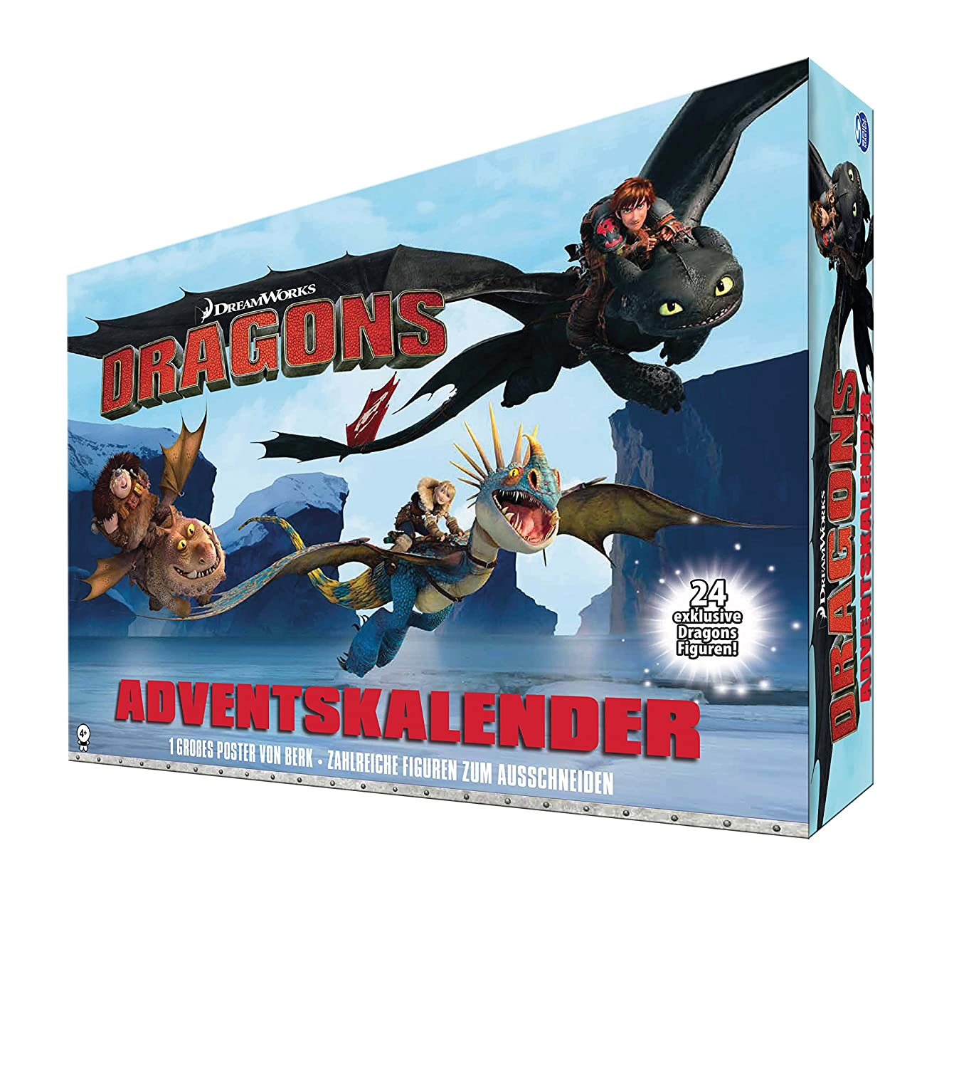 Spin Master Dreamworks Dragons to 6036479 – Advent Calendar