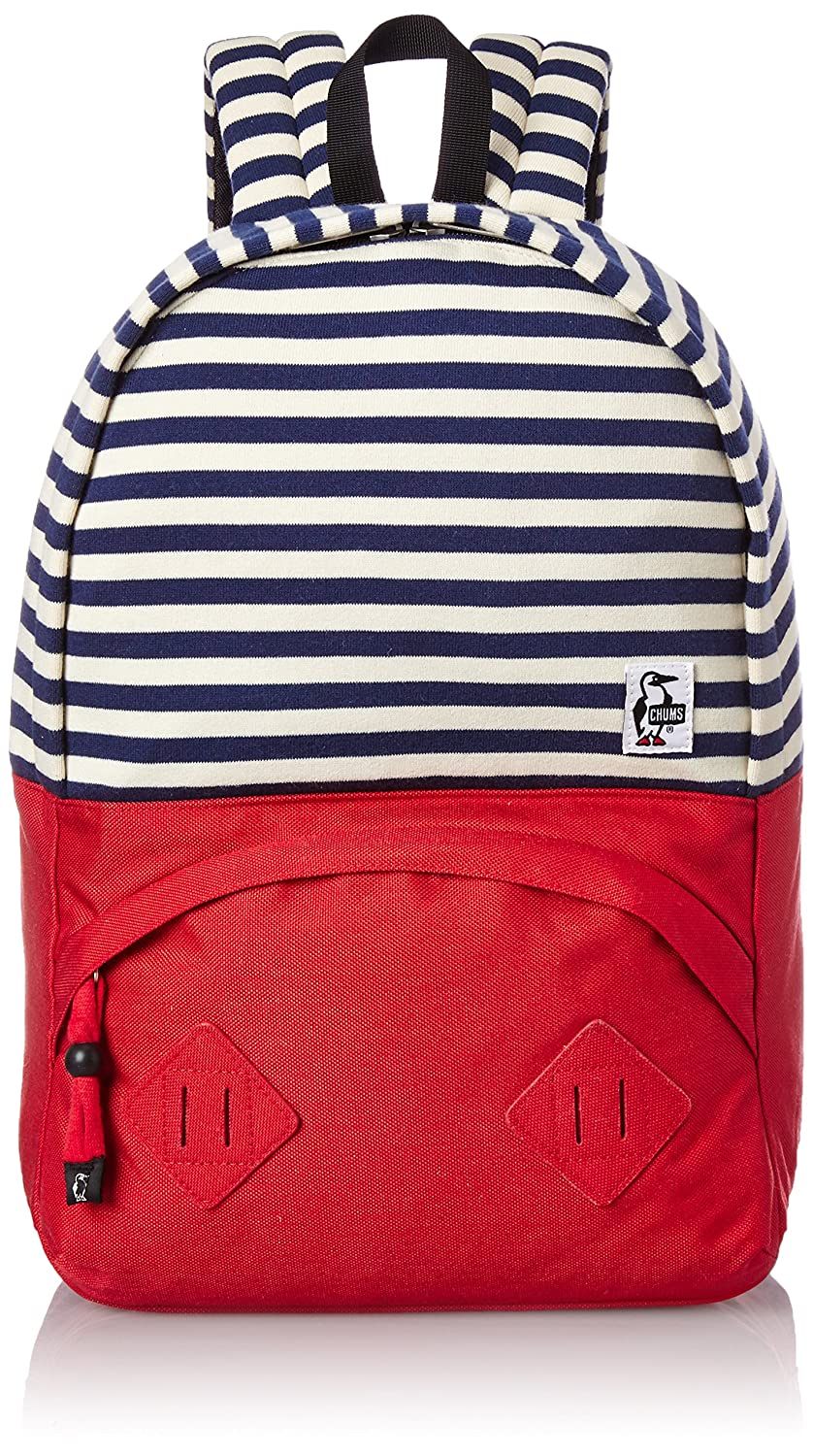 [チャムス] リュック Mariposa Day Pack Sweat Nylon CH60-0912 B0116NIMKO Navy Natural/Tomato Navy Natural/Tomato