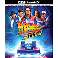 Back to the Future: The Ultimate Trilogy 4K Ultra HD + Blu-ray + Digital Deals