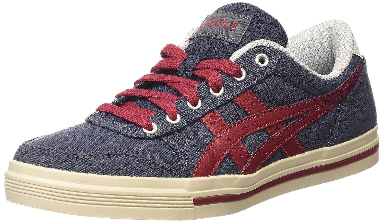 Asics Herren Aaron Sneaker, Grau  39.5 EU Mehrfarbig (Indian Ink/Burgundy)