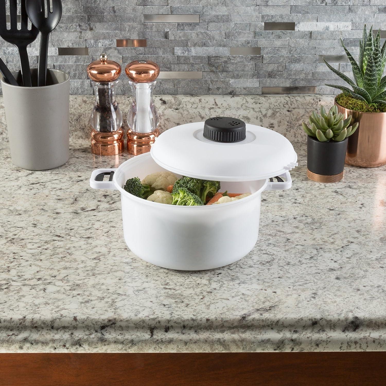 Amazon.com: Chef Buddy Cocina Microondas olla de presión ...