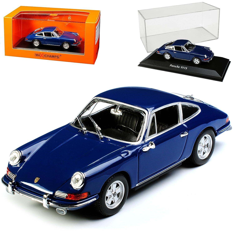 Porsche 911 S Coupe Urmodell Blau 1963-1973 1 43 Minichamps Maxichamps Modell Auto mit individiuellem Wunschkennzeichen B071JZ3WFN Motorfahrzeuge Garantiere Qualität und Quantität    Modern Und Elegant In Der Mode