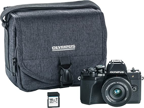 Olympus OM-D E-M10 Mark III Camera Kit with 14-42mm EZ Lens (black)