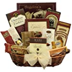 GreatArrivals Gift Baskets Peace & Prosperity Medium Chocolate Holiday Christmas Gift Basket, 3.18 Kg