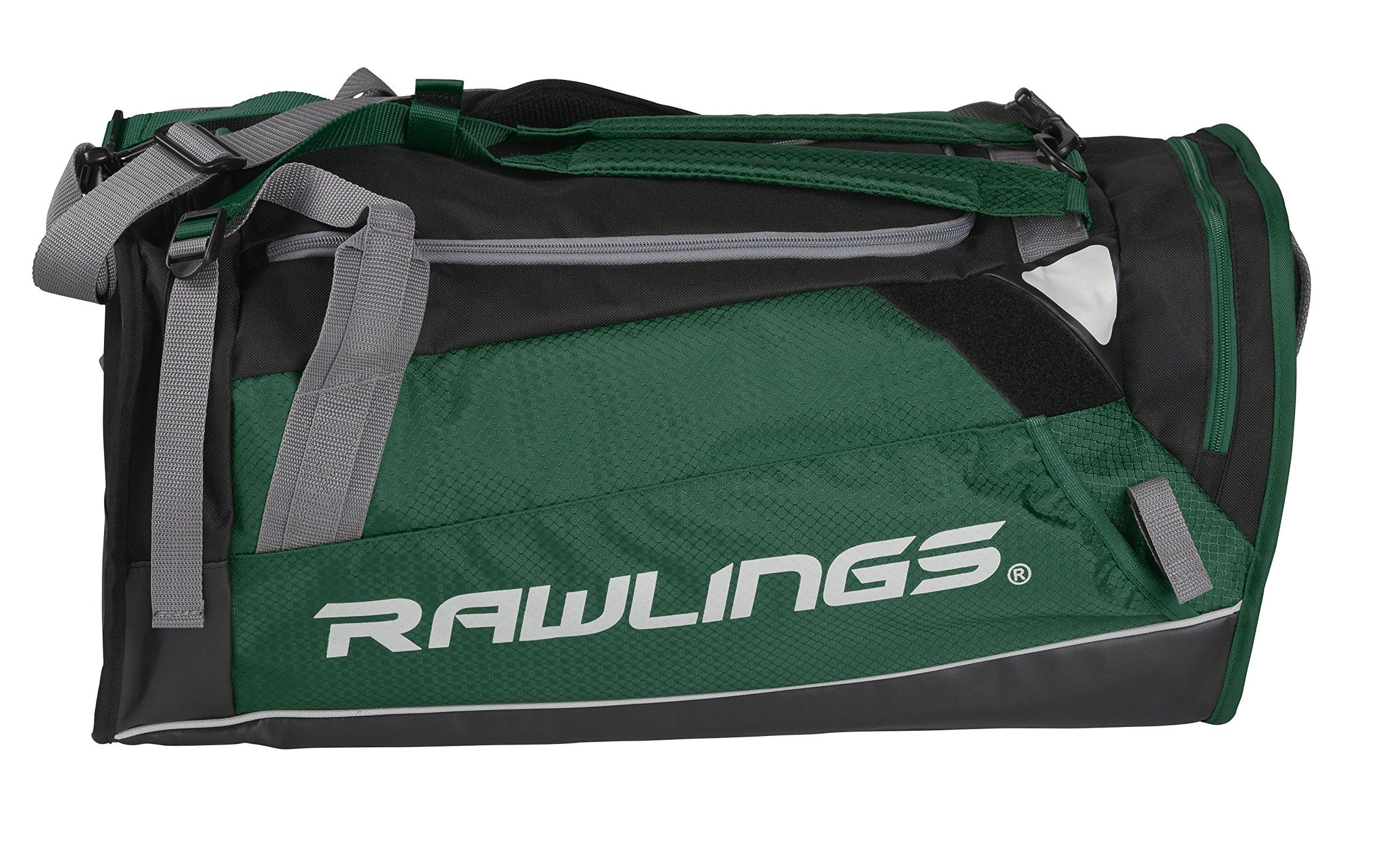Rawlings Hybrid Duffel/Backpack Baseball/Softball Bag, Green by RAWLINGS