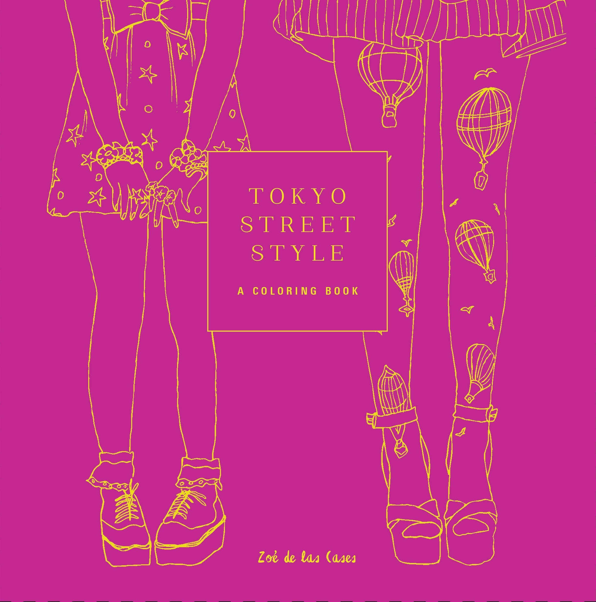 Tokyo Street Style Coloring Books product image