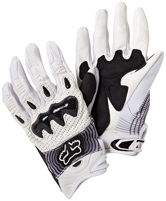 Fox Bomber Glove White/Black size XX-Large