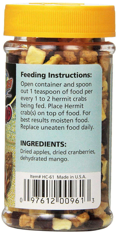 Zoo Med Laboratories SZMHC61 Hermit Crab Fruit Salad 24990