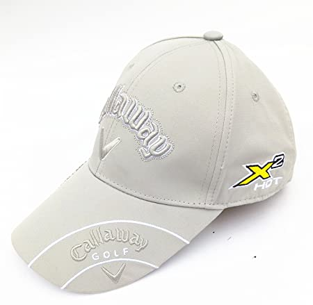 Callaway X2-HOT Golf Cap (Multiple Colours) (Gray)  Amazon.co.uk  Sports    Outdoors 85b9dac55ad