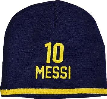 585615da6e4 Hat Barça - Lionel Messi - FC Barcelona - Boys Official Collection   Amazon.co.uk  Sports   Outdoors