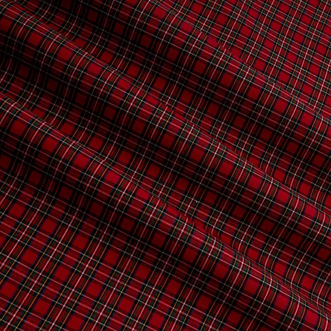 Robert Kaufman Fabrics Sevenberry Classic Plaids Highland Plaid Red