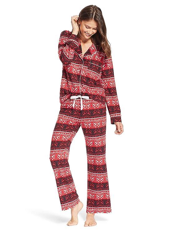 Kathy Ireland Womens Lounge Pajama Shirt and Pants Set at Amazon Women s  Clothing store  1022fe489