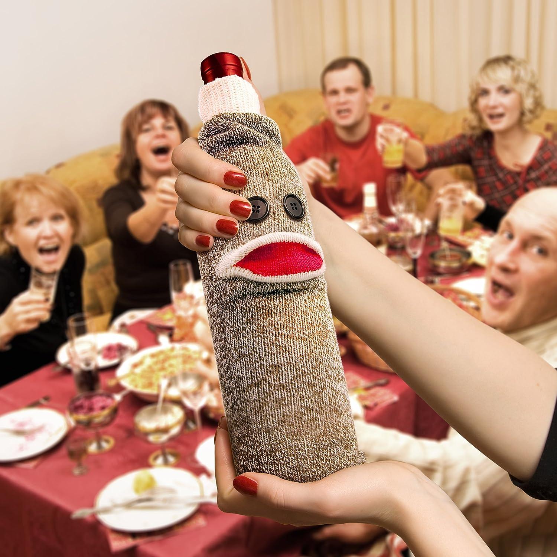 Southern Homewares Sir Perky Wine Corkscrew Novelty Gag Gift