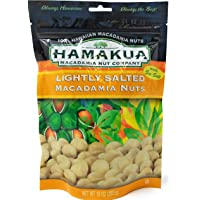 Hamakua Macadamia Nuts Lightly Salted in ReSealable Pouch (10 Ounces, 283 Grams)