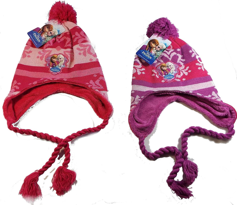 1 Bonnet péruvien Frozen, reine des neiges, 2 coloris aléatoires.