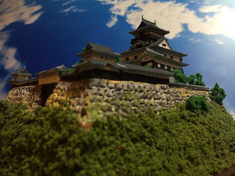 日本100名城 現存天守12城 国宝 犬山城 お城 模型 ジオラマ完成品 B5サイズ B07BPJBC5R