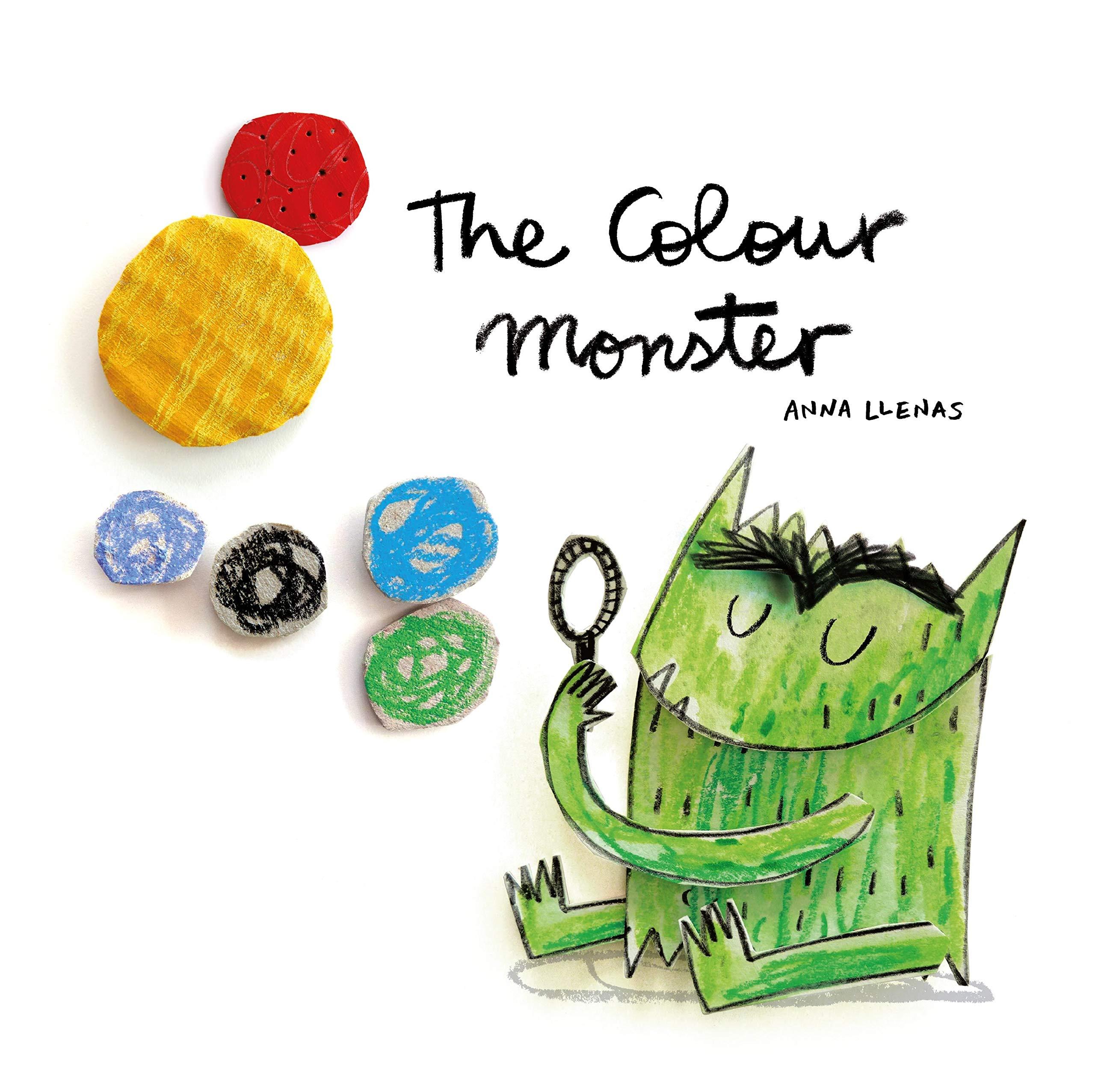 The Colour Monster: Amazon.co.uk: Llenas, Anna: 9781787412736: Books