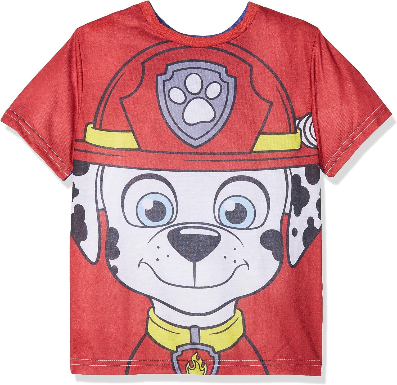 Nickelodeon Paw Patrol Reversible Camiseta, Azul (Blue 19-3952 TC), 3 Años para Niños: Amazon.es: Ropa y accesorios