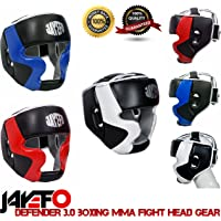 Jayefo Defender 3.0 Boxing MMA Training Head Gear PRO Model Head Guard 2 Way Adjustable Straps FACE Chin Nose Head Protection 4 Layers Thick Gel