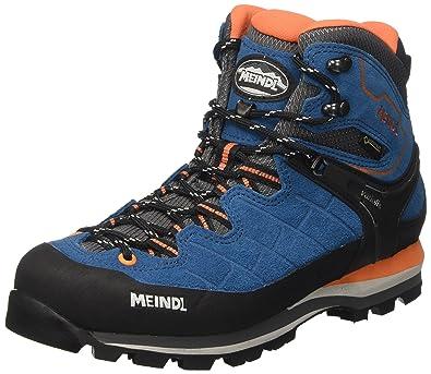 b4e9f3081055 Meindl Herren Blue/Ornag Trekking- & Wanderstiefel, blau