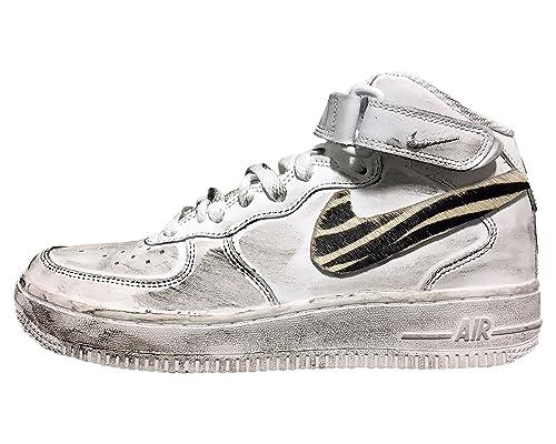 scarpe nike air force zebrate