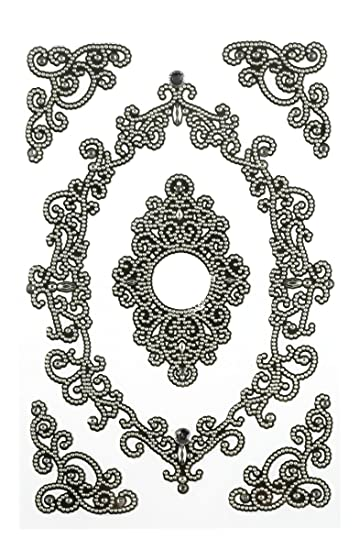 Amazon.com: Martha Stewart Crafts Stickers, Elegant Filigree Frames ...