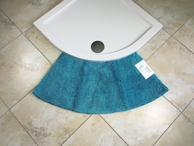 Cazsplash Duschvorleger, mittelgroß, Kurvenform, passend ...