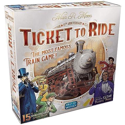 Days of Wonder Ticket to Ride Us 15th Anniversary Editi
