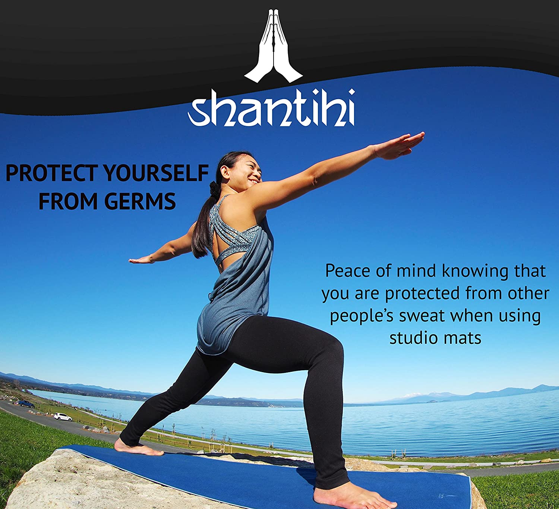 Amazon.com: Shantihi - Toalla de mano para yoga, gimnasio o ...