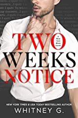 Two Weeks Notice Kindle Edition