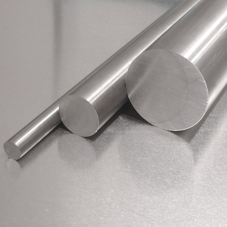 Edelstahl Rundstab VA V2A 1.4301 blank h9 /Ø 17 mm 90cm Zuschnitt L: 900mm