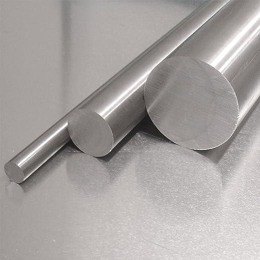 L: 400mm Zuschnitt 40cm Edelstahl Rundstab VA V2A 1.4301 blank h9 /Ø 18 mm